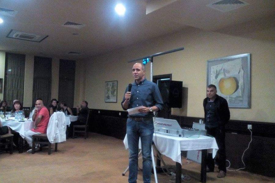 Първа награда XXI ортопедични дни Трявна 2015